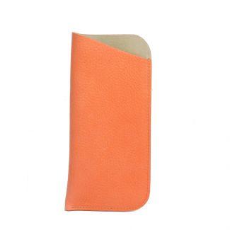 Italian Leather Glasses Slip (Peach)