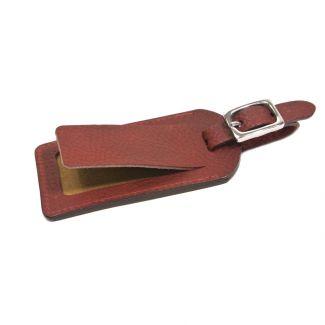Italian Leather Luggage Tag