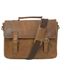 Oakhurst satchel brown