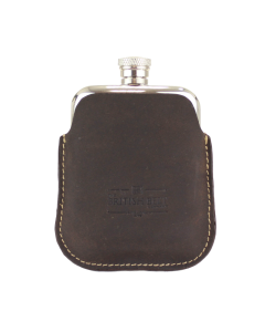Berkeley English Pewter Hip Flask