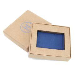 Italian Leather Fold Over Card Holder