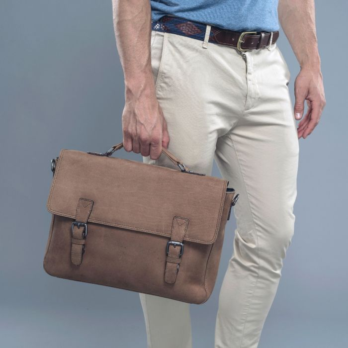 40669eefdcdc Men s Dark Brown Vintage Leather Satchel